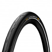 TYRE FOR URBAN BIKE- 20 X 2.00 CONTINENTAL CONTACT URBAN - BLACK/REFLECTIVE - RIGID (50-406) APPROVED FOR E-BIKE 50KM/H