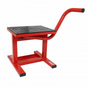 MOTORCYCLE LIFT (FOR MOTOCROSS) RED - WITH LEVER-STEEL MADE - P2R