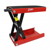 MOTORCYCLE LIFT STAND P2R - MECANICAL SCREW JACK - RED STEEL (HEIGHT min 100mm/max 380mm)