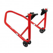 FRONT PADDOCK STAND (Bike Lift) P2R UNIVERSAL - RED STEEL