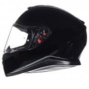 HELMET-FULL FACE MT THUNDER 3 SV SOLID GLOSS BLACK XXL (DOUBLE VISORS-PINLOCK READY)