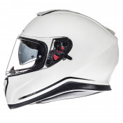 HELMET-FULL FACE MT THUNDER 3 SV SOLID PEARL WHITE XXL (DOUBLE VISORS-PINLOCK READY)