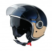 "HELMET - VJ BLUE/BEIGE ""PIAGGIO GENUINE PART"" SIZE S -"