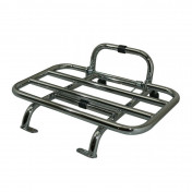 "FRONT LUGGAGE RACK ""PIAGGIO GENUINE PART"" VESPA S CHROME -"