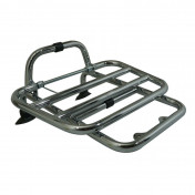 "FRONT LUGGAGE RACK ""PIAGGIO GENUINE PART"" 125 VESPA PX CHROME -"