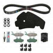 "MAINTENANCE KIT ""PIAGGIO GENUINE PART"" BEVERLY 125 2005> (WITH VARIATOR SLIDING GUIDES) -1R000413-"