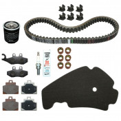 KIT ENTRETIEN MAXISCOOTER ORIGINE PIAGGIO 300 MP3 ABS 2014>, 300 YOURBAN (AVEC GUIDES VARIATEUR) -1R000377-