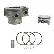 "CYLINDER/PISTON ASSEMBLY ""PIAGGIO GENUINE PART"" 400 MP3 2007, BEVERLY 2006>, X EVO 2007>, X8 2003>/APRILIA 400 ATLANTIC 2005>, 400 SCARABEO 2005> -B018504-"