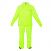 RAIN SUIT (FOR CHILD)TUCANO - YELLOW FLUO 9/10 Y.O. (SET WITH JACKET+PANTS)