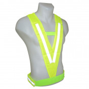 REFLECTIVE SAFETY VEST/HARNESS - P2R - ONE SIZE