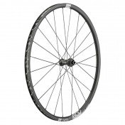 WHEEL FOR ROAD BIKE- FRONT 700 DT SWISS C1800/23 CROSS DISC CENTERLOCK AXLE 12/100mm (RIM HEIGHT 23mm) WITH ADAPTER FOR 10/135 TUBETYPE/TUBELESS READY