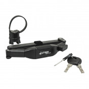 """BICYCLE ANTITHEFT- CROPS - FOLDING """"KNIFE TYPE"""" BLACK L.80mm-COMPATIBLE WITH AUDIBLE ALARM 159964"""