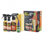 BICYCLE CLEANER KIT - DIRTWASH/TF2 (CONTAINS : SPONGE- BIKE CLEANER-DEGREASER CITRUS-LUBRICANT TF2 TEFLON FOR ALL CONDITIONS)