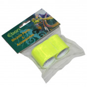 SAFETY ARMBAND- P2R - ON LEG OR ARM-YELLOW REFLECTIVE L330x35mm (PAIR)