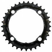 CHAINRING FOR ATB-FOR TRIPLE- 33T. SRAM 10 Speed BLACK -4 ARMS- FOR 3X10