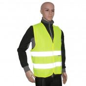 GILET DE SECURITE P2R ADULTE JAUNE REFLECHISSANT