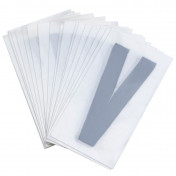 LETTER FOR LICENSE PLATE PVC MOTORBIKE/SCOOTER 45mm V (SOLD PER 10)