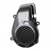 COOLING FAN COVER FOR SCOOT MBK 50 BOOSTER, ROCKET, NG, STUNT/YAMAHA 50 BWS, SPY, BUMP, SLIDER 2004> CARBON -REPLAY-