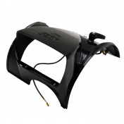 COWLING FOR HEADLIGHT FOR SOLEX 3800 BLACK (WITHOUT LENS)