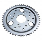 REAR CHAIN SPROCKET FOR 50cc MOTORBIKE DERBI 50 SENDA 1995>1999 420 48 TEETH (BORE Ø 53mm) -SELECTION P2R-