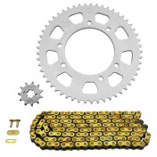 CHAIN AND SPROCKET KIT FOR DERBI 50 SENDA DRD RACING 2006>2011/BULTACO 50 ASTRO, LOBITO 1999>2002 420 11x53 (BORE Ø 102mm) -AFAM-
