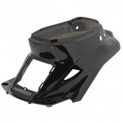 REAR SIDE COVER FOR SCOOT MBK 50 BOOSTER 1999>2003/YAMAHA 50 BWS 1999>2003 -GLOSS BLACK-- SELECTION P2R