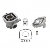 COMPLETE CYLINDER KIT FOR MOPED MBK 51 LIQUID COOLED -ALUMINIUM NIKASIL P2R-