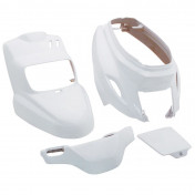 FAIRINGS/BODY PARTS FOR SCOOT MBK 50 BOOSTER 2004>/YAMAHA 50 BWS 2004> WHITE GLOSS (4 PARTS KIT)
