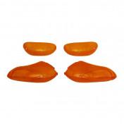 CABOCHON CLIGNOTANT SCOOT ADAPTABLE GILERA 50 STALKER AV+AR 1997>2000 ORANGE (x4) -REPLAY-