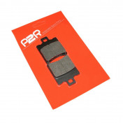 """BRAKE PADS """"RACING RED"""" FOR MBK 50 BOOSTER Front, NITRO Front / APRILIA 50 SR Front / MALAGUTI 50 F12 Front / PEUGEOT 50 BUXY Front / PIAGGIO 50 ZIP, TYPHOON Front, NRG Front, NTT Front -P2R-"""