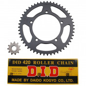 CHAIN AND SPROCKET KIT FOR APRILIA 50 RX 2002>2005 420 11x51 (BORE Ø 105mm) (OEM SPECIFICATION) -DID-