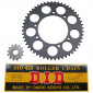 CHAIN AND SPROCKET KIT FOR PEUGEOT 50 XPS 1996>2001 420 13x52 (BORE Ø 105mm) -SPOKED WHEELS- (OEM SPECIFICATION) -DID