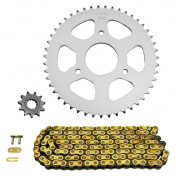 CHAIN AND SPROCKET KIT FOR RIEJU 50 RS2 2004>2010 420 11x47 (BORE Ø 55mm) (OEM SPECIFICATION) -AFAM-
