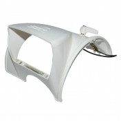 COWLING FOR HEADLIGHT FOR SOLEX 3800 WHITE (WITHOUT LENS) -SELECTION P2R-
