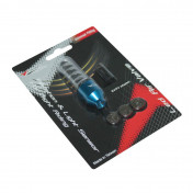 VALVE CAP REPLAY WITH DIODE- BLUE (SOLD PER UNIT)