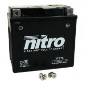 BATTERY 12V 6 Ah YTZ7S NITRO MAINTENANCE FREE GEL READY FOR USE (Lg114xL71xH106)