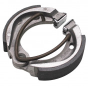 BRAKE SHOE FOR MOPED MBK 51 -FRONT+REAR- (Ø 90mm - 1 SPRING) (SOLD IN PAIRS)