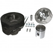 COMPLETE CYLINDER KIT FOR MAXISCOOTER POLINI CAST IRON FOR PIAGGIO 125 VESPA PRIMAVERA ET3 RACING (Ø 57 mm) (140.0050/R)