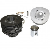 COMPLETE CYLINDER KIT FOR SCOOT POLINI CAST IRON FOR PIAGGIO 50 PK (Ø 38,4 mm) (140.0091)