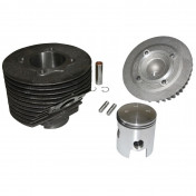 COMPLETE CYLINDER KIT FOR MAXISCOOTER POLINI CAST IRON FOR PIAGGIO 125 VESPA PRIMAVERA ET3 (Ø 57 mm) (140.0050)