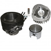 COMPLETE CYLINDER KIT FOR SCOOT POLINI CAST IRON FOR PIAGGIO 50 PK (Ø 55 mm) (140.0056)