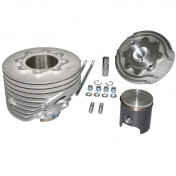 COMPLETE CYLINDER KIT FOR MAXISCOOTER POLINI ALUMINIUM FOR PIAGGIO 125 VESPA PRIMAVERA ET3 EVOLUTION (Ø 57 mm) (140.0211)