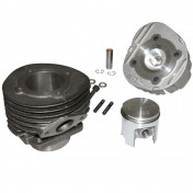 COMPLETE CYLINDER KIT FOR SCOOT POLINI CAST IRON FOR PIAGGIO 50 PK (Ø 50 mm) (140.0059)