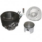 COMPLETE CYLINDER KIT FOR SCOOT POLINI CAST IRON FOR PIAGGIO 50 PK (Ø 57,5 mm) (140.0058)