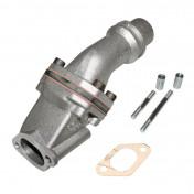 INLET MANIFOLD POLINI FOR PIAGGIO 125 VESPA PRIMAVERA ET3 (Ø 24 mm) (215.0115)