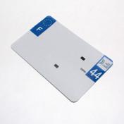 PLASTIC STRIP FOR BLANK PVC LICENSE PLATE (MOTORBIKE FORMAT 210X130)-DEPT 44/EUROPE (SOLD PER UNIT)