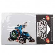 AUTOCOLLANT/STICKER MERYT CREATURE SCOOTER (10cm)