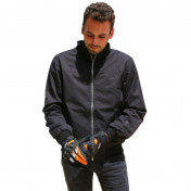 JACKET ADX RIVAL FOR MEN BLACK XXL (WITH PROTECTIONS/WITHOUT BACK PROTECTOR)
