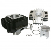 COMPLETE CYLINDER KIT FOR YAMAHA 50 PW (Ø 40mm - PISTON PIN Ø 10mm - SOLD WITH GASKETS) -P2R-