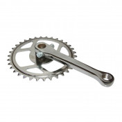 PEDAL CRANK FOR MOPED SOLEX - RIGHT WITH GEAR WHEEL (SOLD BY UNIT)